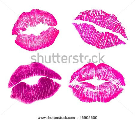 Lips clipart hot pink Clip Pink  Free Images