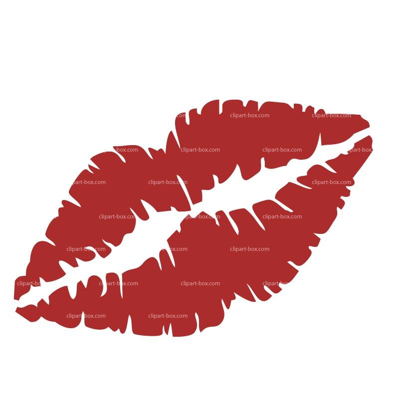 Lipstick clipart kissy lip Free Clipart Buttocks library Clip