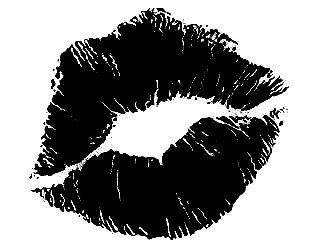 Lips clipart kiss mark To ass look branding did