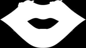Lips clipart lip outline Com Lip Outline vector Clip