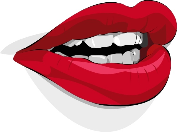 Pice clipart mouth Svg Free office Open Mouth