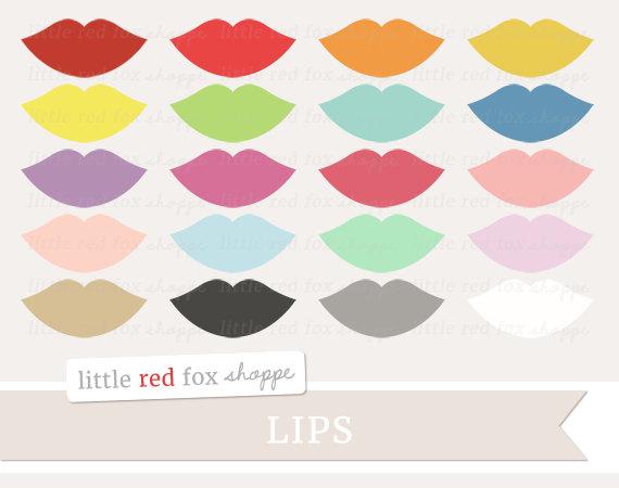 Kisses clipart lip gloss Beauty Lip Cosmetics Chapstick Graphic