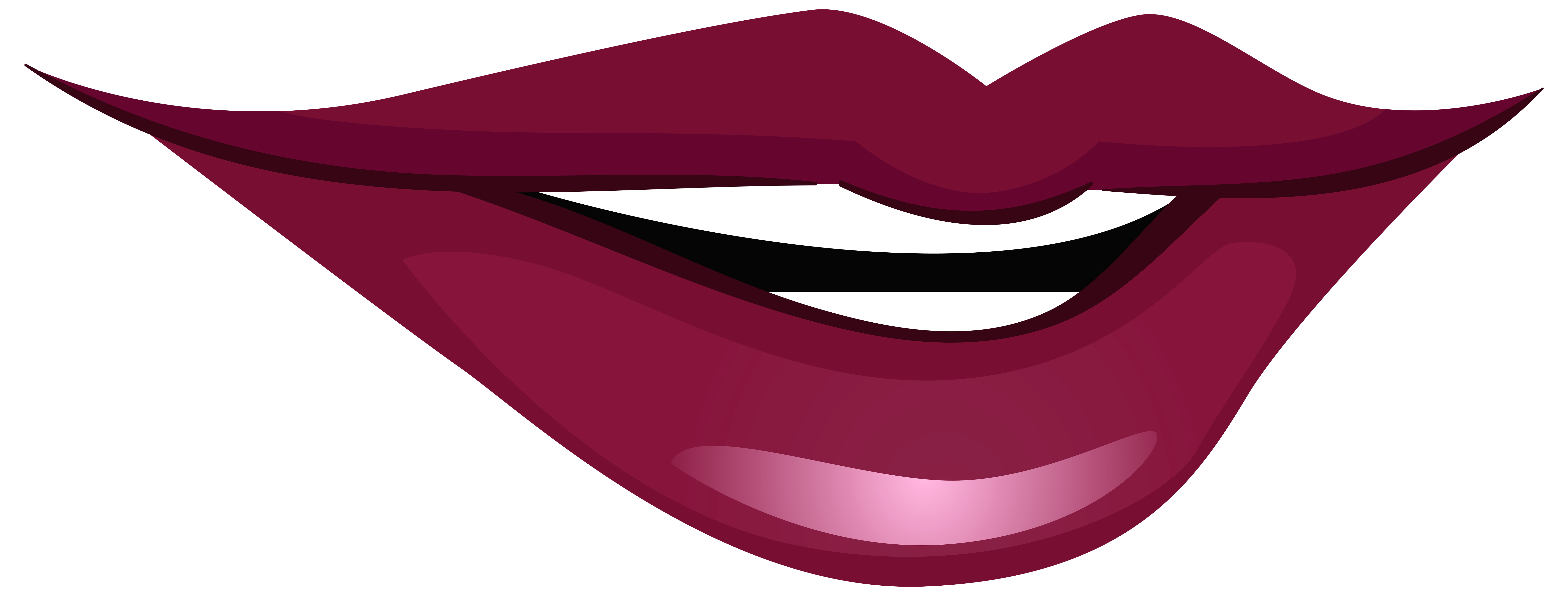 Maroon clipart lips Art WEB PNG Mouth Clipart