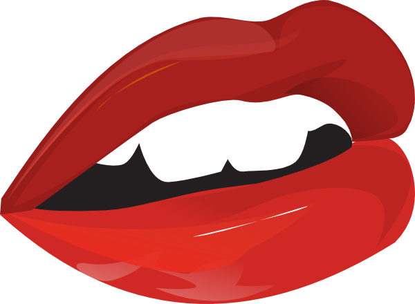 Teeth clipart open mouth Black collection Mouth clipart And