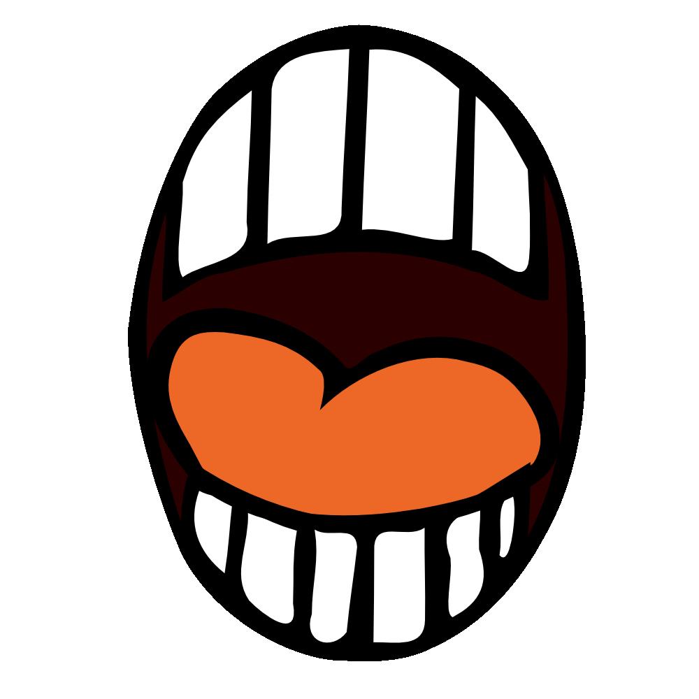 Penguin clipart open mouth Images Smile Lips Clipart Panda