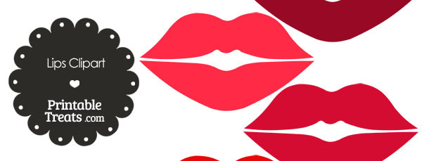 Lips clipart printable Lips of — of Clipart