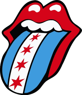 Tongue clipart rolling stones #3