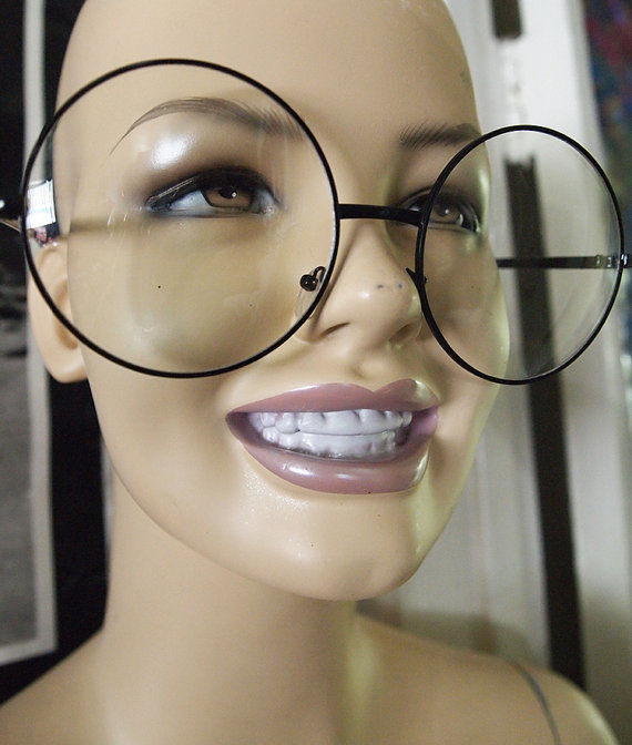 Lips clipart round eyeglass  // EYES Glasses Lens