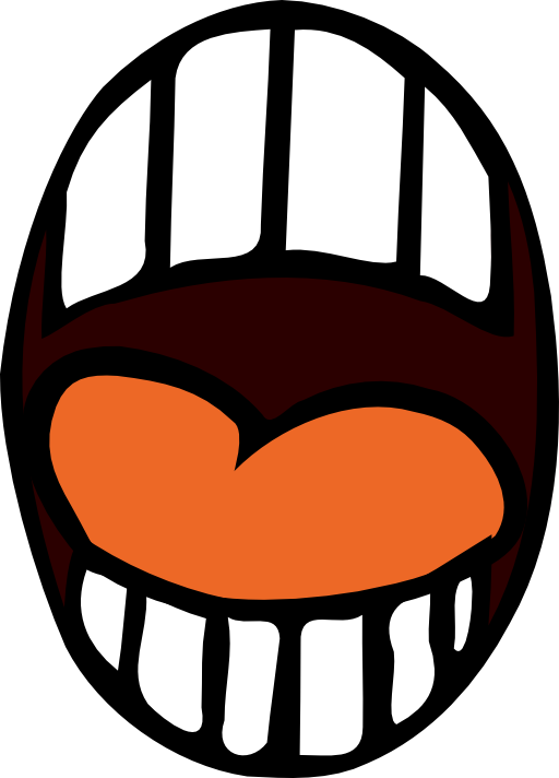 Screaming clipart mouth Collection clipart Talking Open Clipart