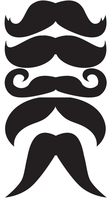 Dark Blue clipart mustache Venture: DIY Pinterest 10+ ideas