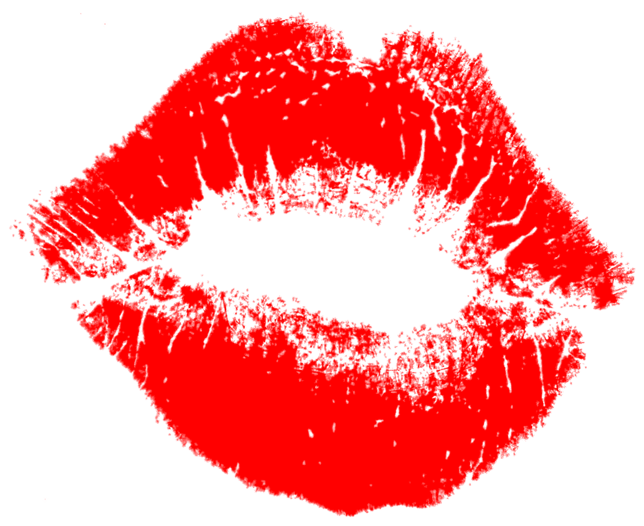 Lipstick clipart kissy lip Mouth of Lips Isolated mouth