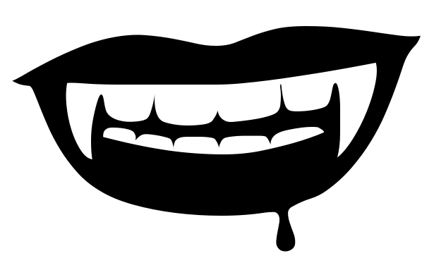 Vampire clipart mouth Art mouth Download clipart Art