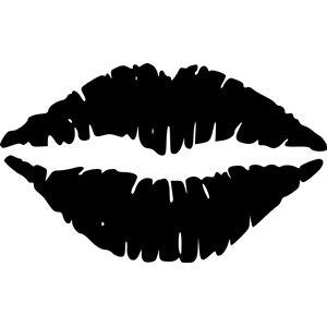 Makeup clipart lip outline Lips best svg images 102