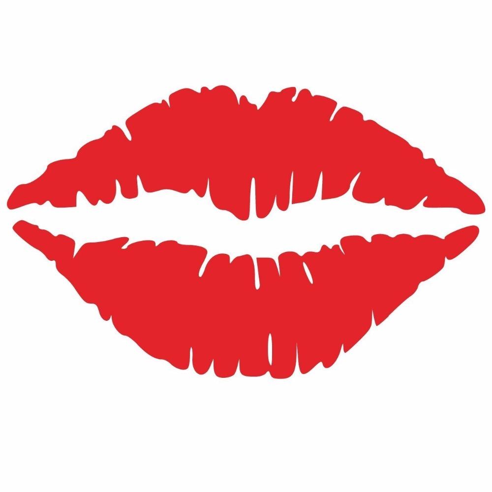 Lipstick clipart wallpaper Wholesale  Sticker Wallpaper Decals