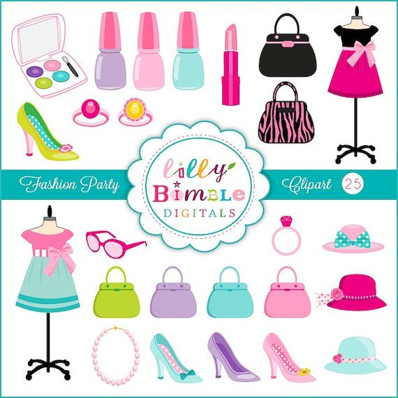 Makeup clipart girly 389 Clipart Included best Pinterest