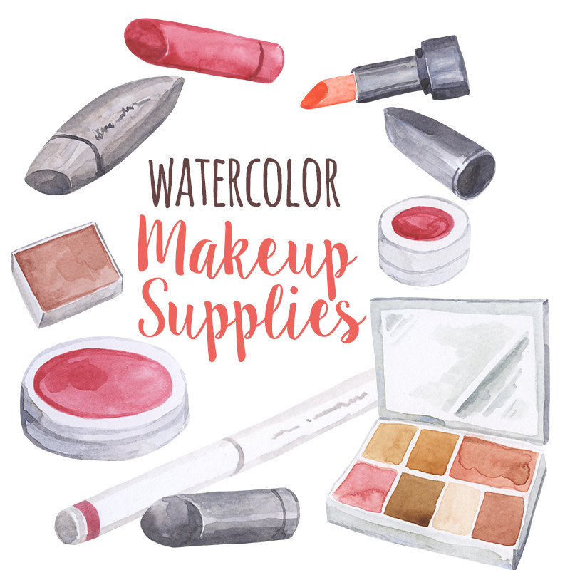 Lipstick clipart beauty supply File Makeup from Watercolor Cosmetics