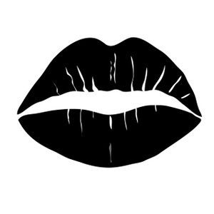 Black clipart kiss Downloads File Clipart Lips 1677;