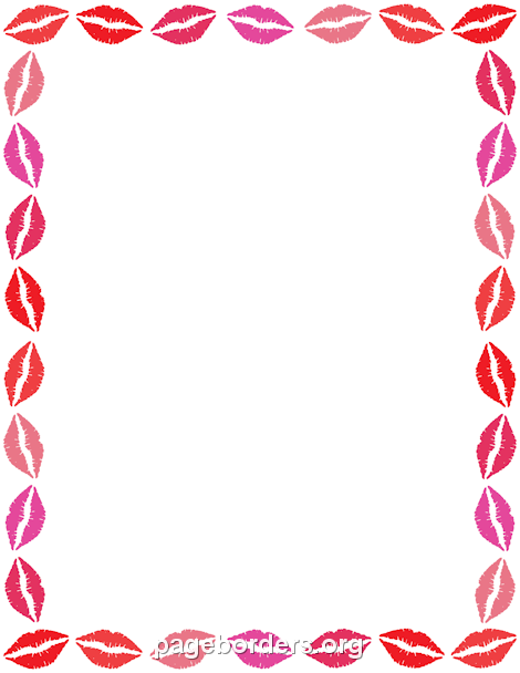 Makeup clipart frame Border creating or Use border