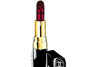 Chanel clipart lipstick Clip Art art clipart lipstick