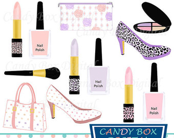 Makeup clipart girly Use Diva Commercial Fashion Clipart