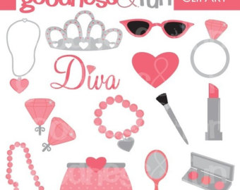 Makeup clipart jewelry Makeup Buy Etsy Clipart Get