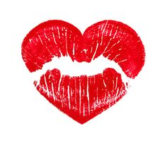 Lips clipart kiss mark Emoji Lips Lipstick (U+1F484/U+E31C) Heart