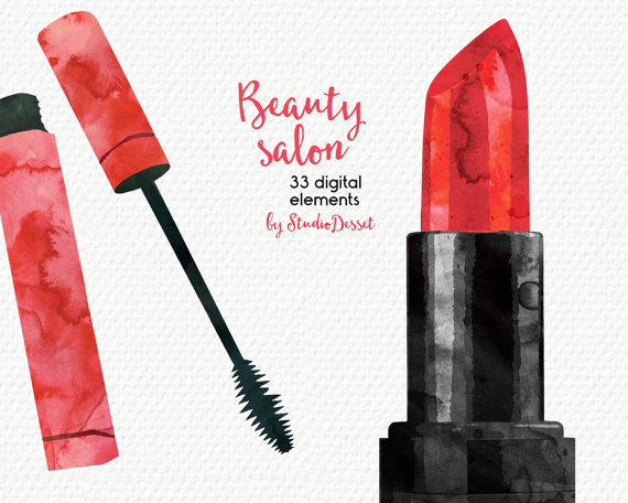 Lipstick clipart eyeshadow  Personal file and digital