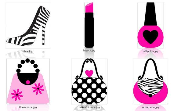 Barbie clipart lipstick Hot is Diva Pink digital