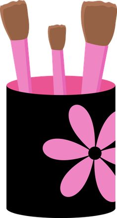 Makeup clipart girly Minus  ZWD_SpaFlipFlops happy clipart