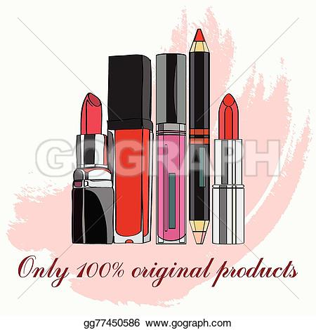 Lipstick clipart lip gloss For some Cosmetics lips Drawing