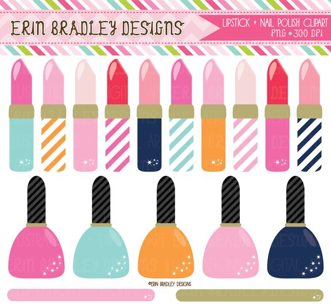 Lipstick clipart makeover About Nail Clipart Y PRENDAS