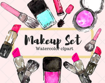 Makeup clipart makeover Clipart Lipstick Etsy Clipart Clipart