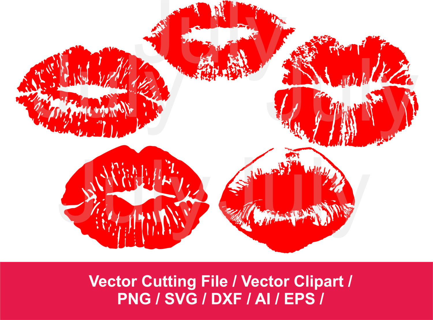 Lips clipart pouty lip Svg Files Clipart Kiss Cutting