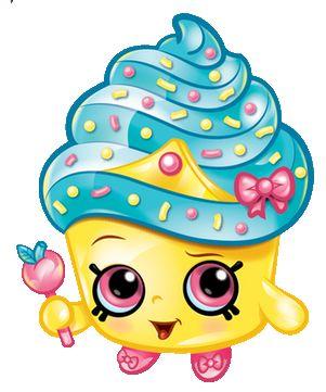 Cart clipart shopkins Cupcake Party Pinterest Shopkins 57