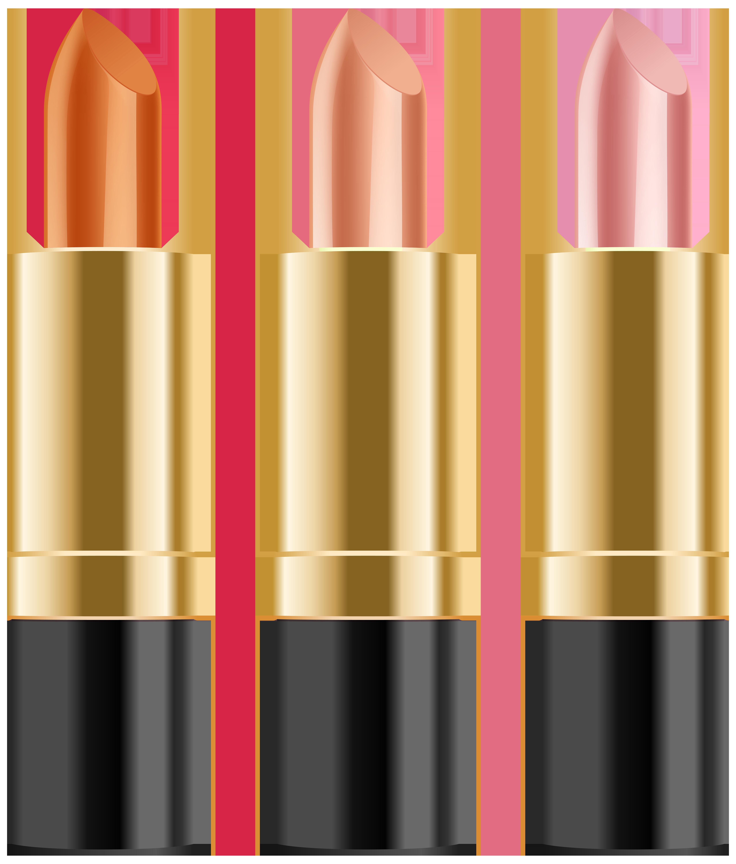 Lipstick clipart transparent background Full Image PNG Art Set