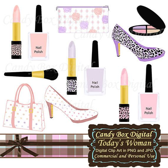 Lipstick clipart vintage makeup Polish images Polish perfume Art