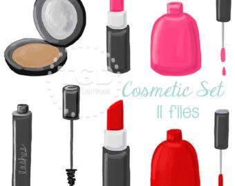 Lipstick clipart vintage makeup Makeup Lipstick clip Lipstick Nail