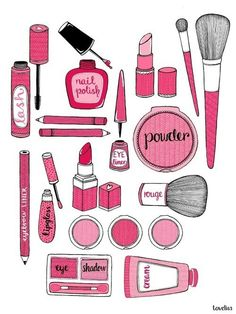 Lipstick clipart vintage makeup  by art by Pinterest