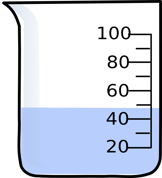 Liquid clipart This vector Beaker Clker clip