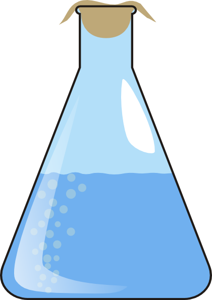 Liquid clipart This at Erlenmeyer Clip Clker