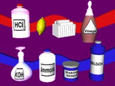 Liquid clipart acids and base Bases and crossword info Base