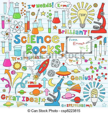 Science clipart doodle #1
