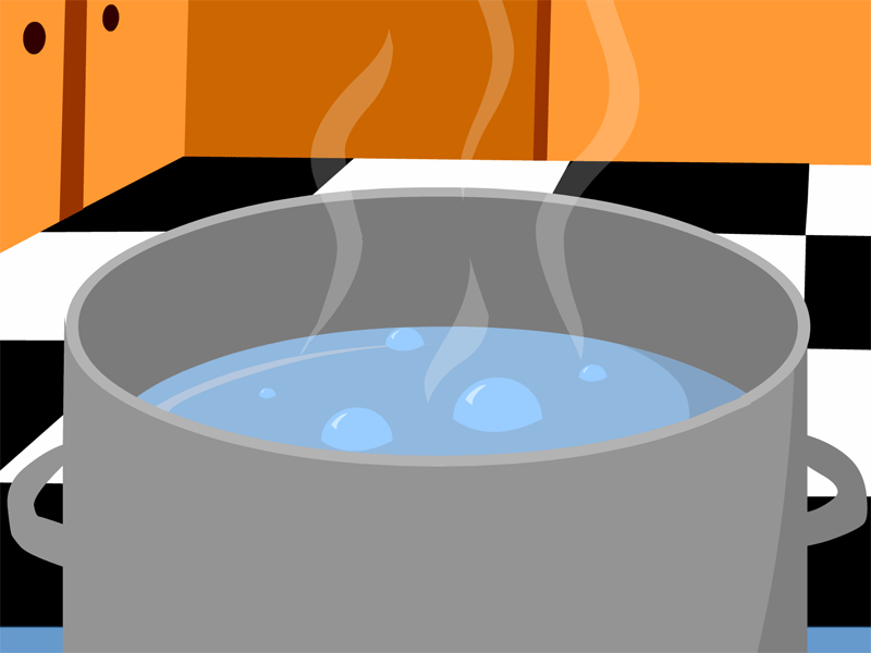 Liquid clipart evaporation Boiling Matter Of on Art