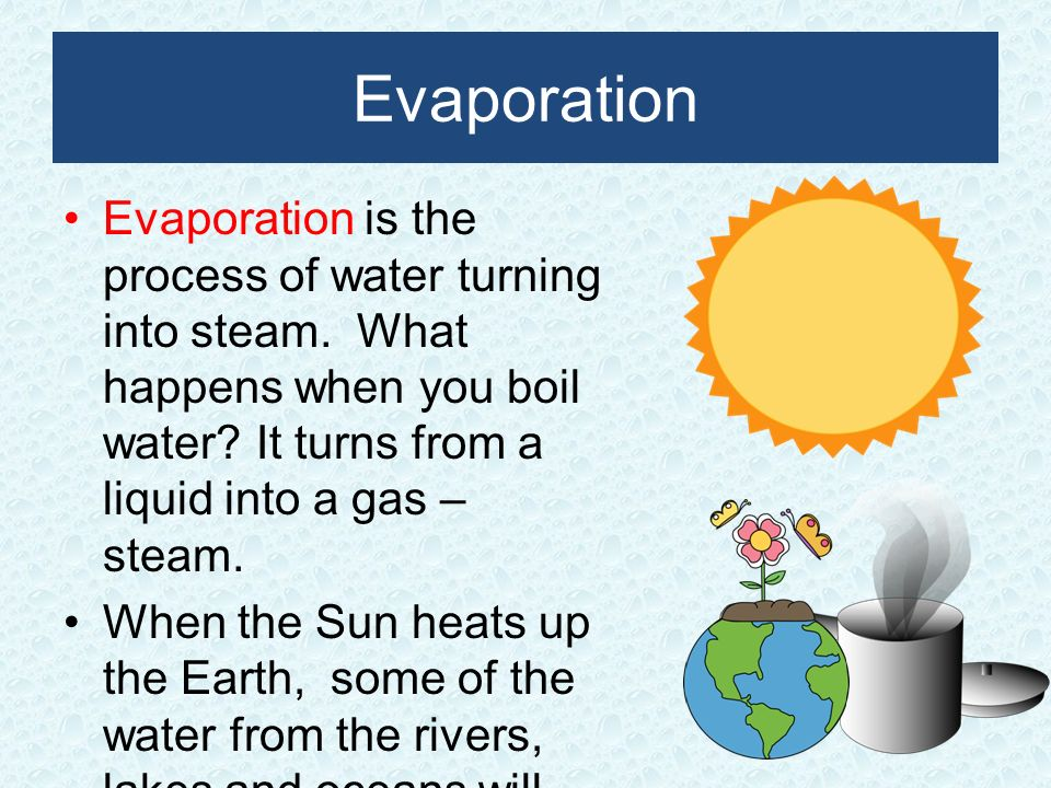 Liquid clipart evaporation Presentation Clip Water Download Cycle