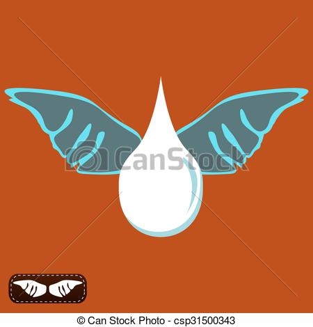 Liquid clipart evaporation Wings the evaporation with