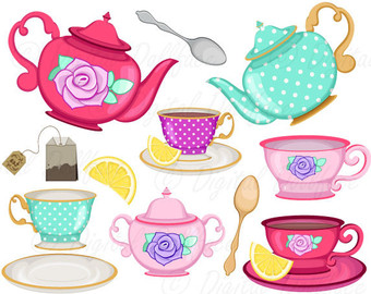 Teapot clipart teacup Cup Tea Tea Shower clip