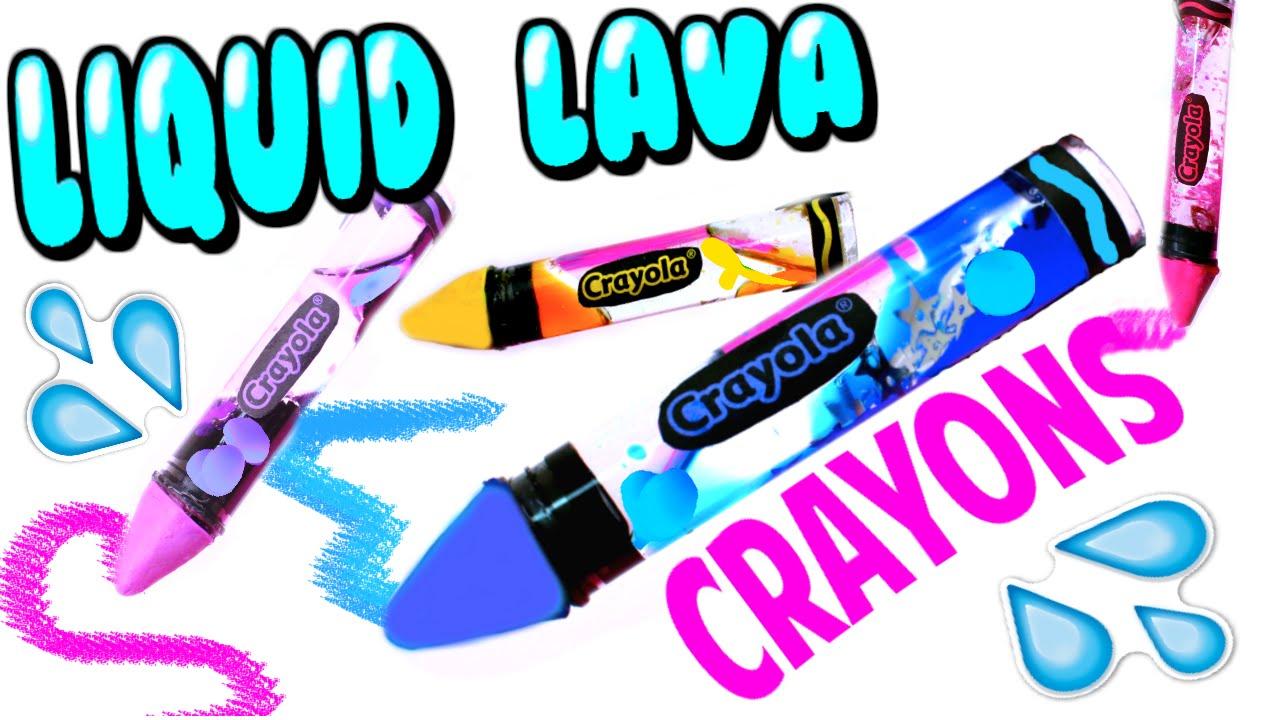 Liquid clipart school DIY School Crayons Crayons Water