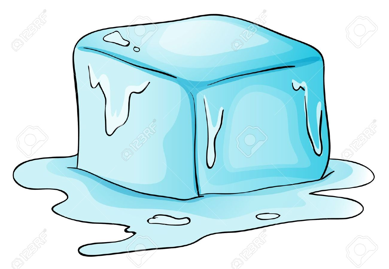 Ice Cube clipart solid Matter Ice an from changing