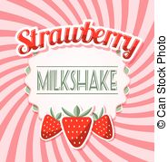 Liquid clipart strawberry milkshake Fresh Strawberry on Clip milkshake