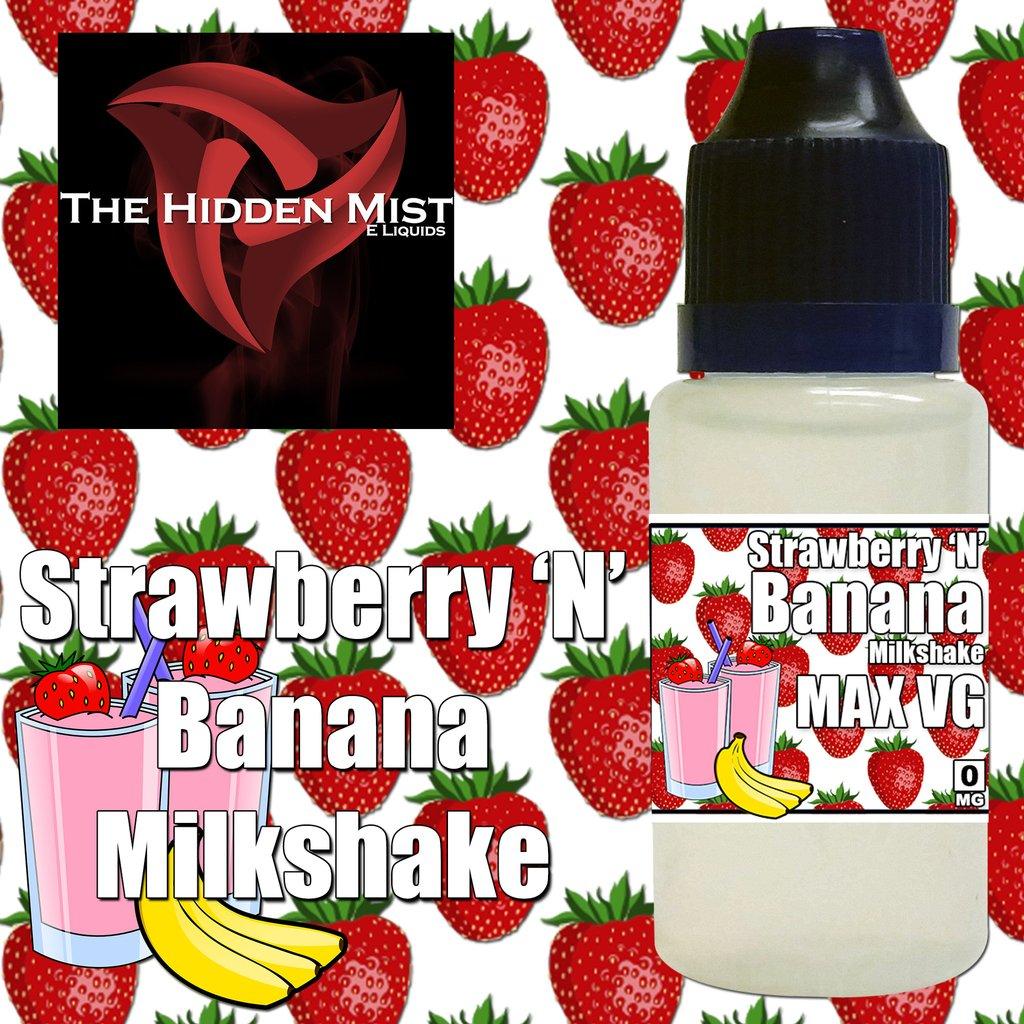 Liquid clipart strawberry milkshake Strawberry The The Banana Mist